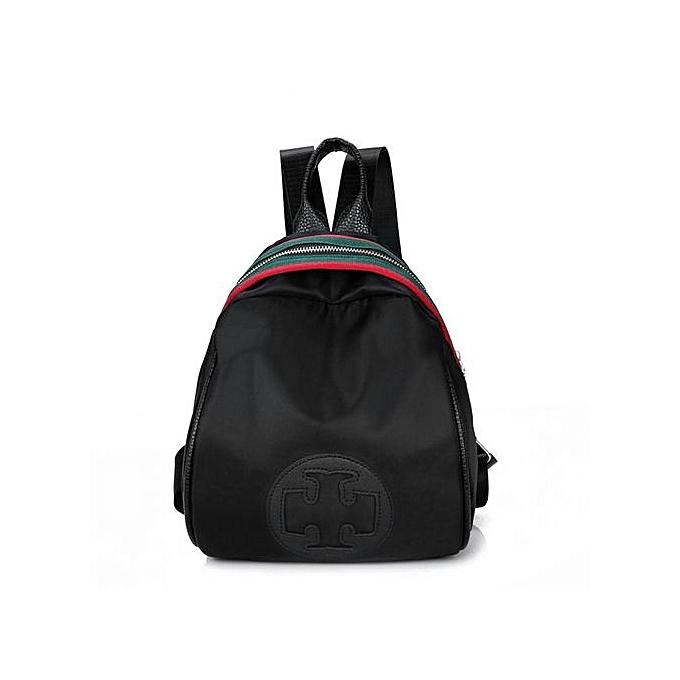 Generic Multi-Purpose Small Taille femmes Female Backpacks Casual Solid Couleur Zipper Bag à prix pas cher