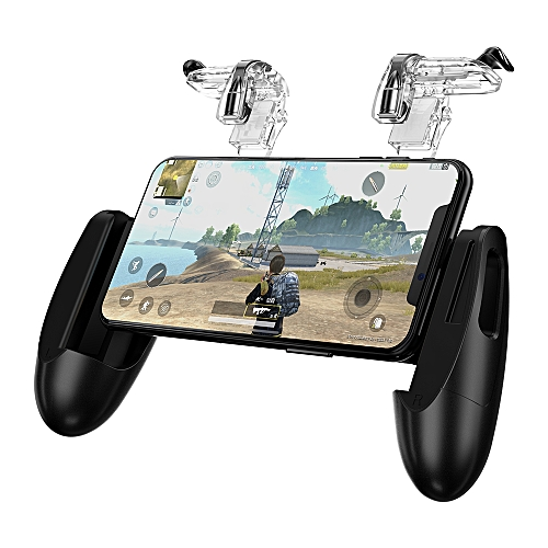 GameSir F2 Game Firestick Grip for Android & iOS Phone, 2 Triggers, Game  Mount Bracket Trigger Fire Button Aim Key F PUBG Mobile CHSMALL