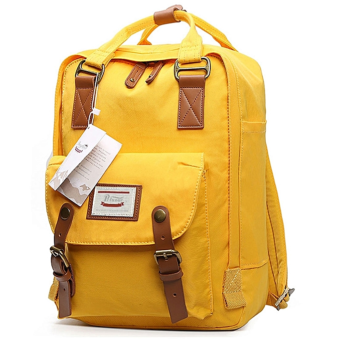 UNIVERSAL Fashion Casual Travel Backpack Laptop Bag Student Bag with Handle, Taille  382815cm(jaune) à prix pas cher