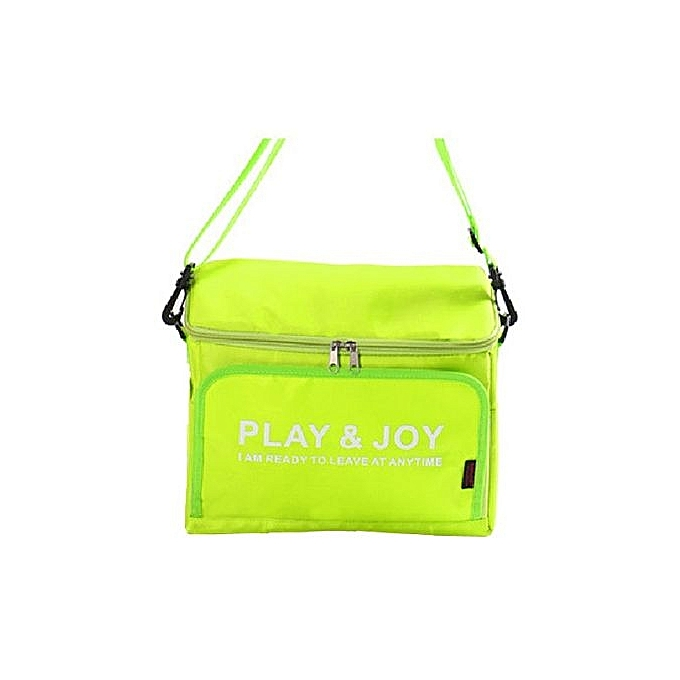 UNIVERSAL Multifuctional Car Seat Storag E Bag Pinic Bag Outdoors Bag Cold Insulation Heat Preserva Tion Lunch Bags Cooler Bag Fluorescent vert à prix pas cher