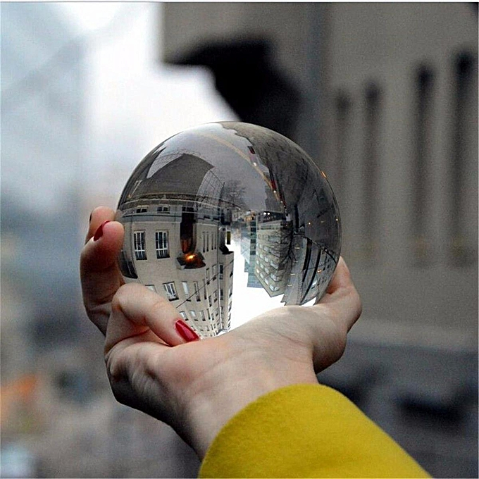 Autre 40-120mm Effacer K5 Cristal Photographie Lens Ball Photo Prop Contexte Décor À La Maison   80mm à prix pas cher