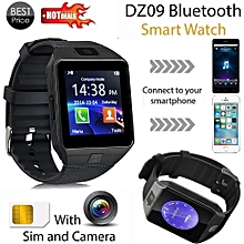 4d2ccad1f Bluetooth Touch ScreenBluetooth Smart Watch DZ09 GSM Smartwatch For Android  Phone BK Artificical
