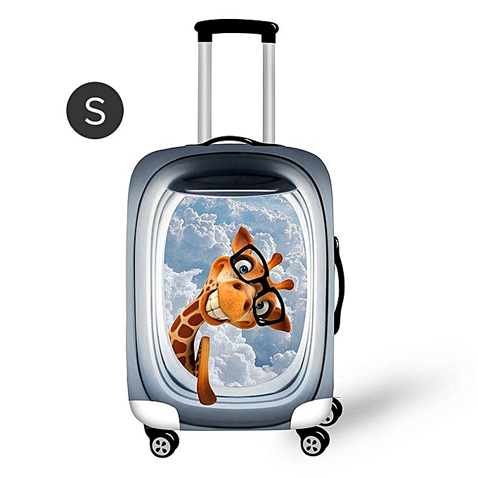 Fashion Oxford cloth suitcase elastic case waterproof and dustproof prougeective case Trolley case cartoon dust bin prougeective cover à prix pas cher