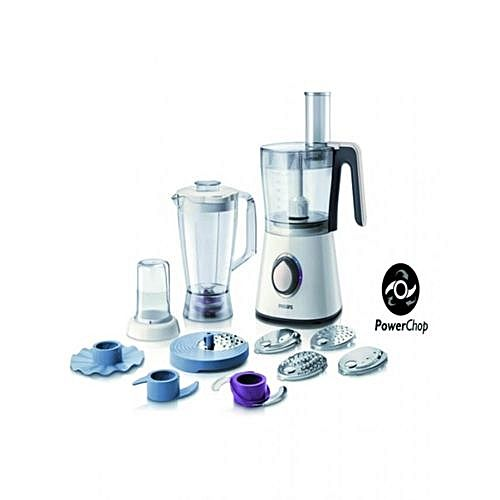 Philips viva collection robot de cuisine 750w bol 2 1 l - Philips robot de cuisine ...