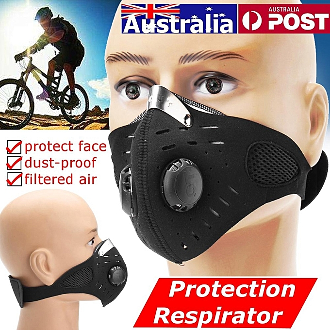 UNIVERSAL Respirator Mask Dust Proof Half Face Outdoor Anti Gas Pollen Allergy Prougeection à prix pas cher
