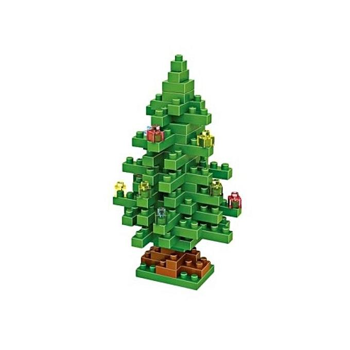 Fashion Loz 130Pcs Christmas Tree Building Block Educational Diy Toy(vert) à prix pas cher