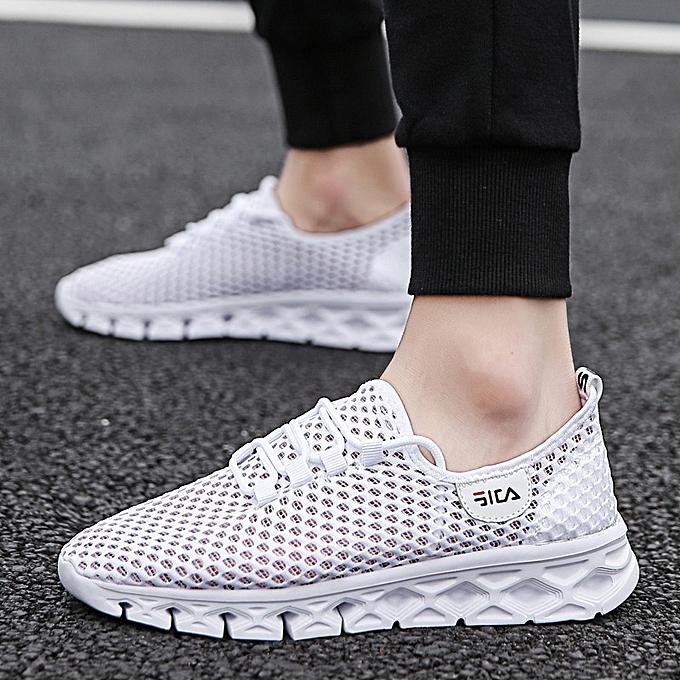 Other mode été Hommes's respirant Sports chaussures HolFaible FonctionneHommest chaussures-blanc à prix pas cher
