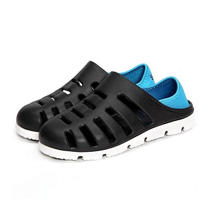 mode mode Hommes Big Taille Multi-Way Weabague HolFaible Out respirant Décontracté Flat plage chaussures Sandals-EU à prix pas cher