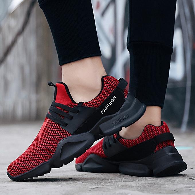 Fashion Mesh baskets Light Breathable Sport chaussures Men Running chaussures Comfortable baskets à prix pas cher