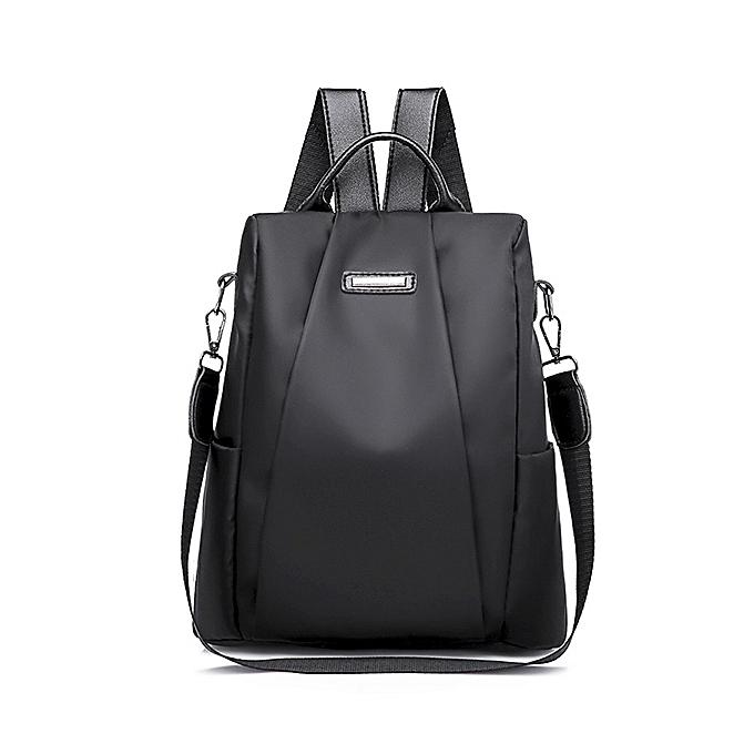 Other mode Laptop sac à dos Nylon Charge Computer sac à dos Anti-theft imperméable sac for femmes Oxford cloth student sac Teenage(noir) à prix pas cher