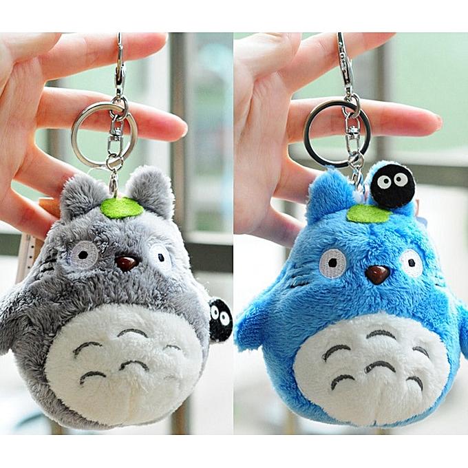 Autre Mini 10cm Totor Plush Toy kawaii Anime Totor Keychaîne Toy Stuffed Plush pendentif Totor Dolls à prix pas cher