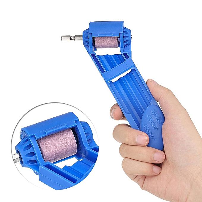 UNIVERSAL Corundum Grinding Wheel Drill Bit Sharpener Portable Drill Powerouge Tool à prix pas cher