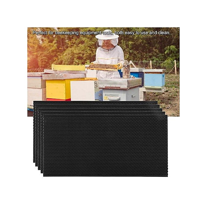 Other Sweetbaby Auto Honey Beehive Frames Beekeeping Kit Pollination Box Bee Hive King Box 42.5 X 21 Cm à prix pas cher