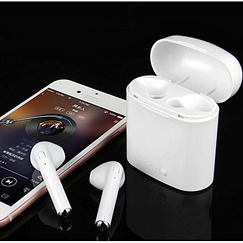 i7S TWS I7 TWS Écouteurs Ture Sans Fil Bluetooth Double Écouteur Avec Boîte  De Charge Jumeaux af3432055b00