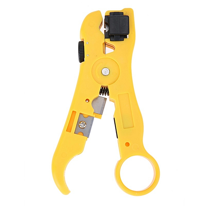 Autre Universal Wire Pliers Cable Stripper for Network Flat Round Cat5 Cat6 Coax Coaxial Cable Cutter Wire Stripping Tool à prix pas cher