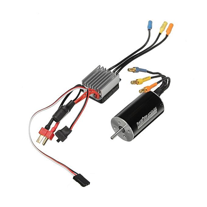 Generic Racerstar 2845 Motor Brushless imperméable Sensorless 35A ESC Combo 1 12 1 14 RC voiture Parts 3100KV à prix pas cher