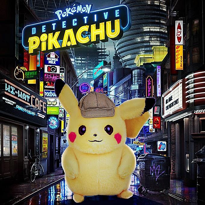 Autre Pokémon Detective Pikachu Plush Stuffed Animal Soft Toy Collection Birthday Gifts à prix pas cher