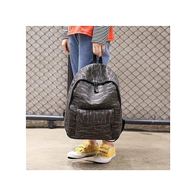 Fashion Correponde Fashion Unisex Casual Travel Satchel Shoulder Backpack à prix pas cher