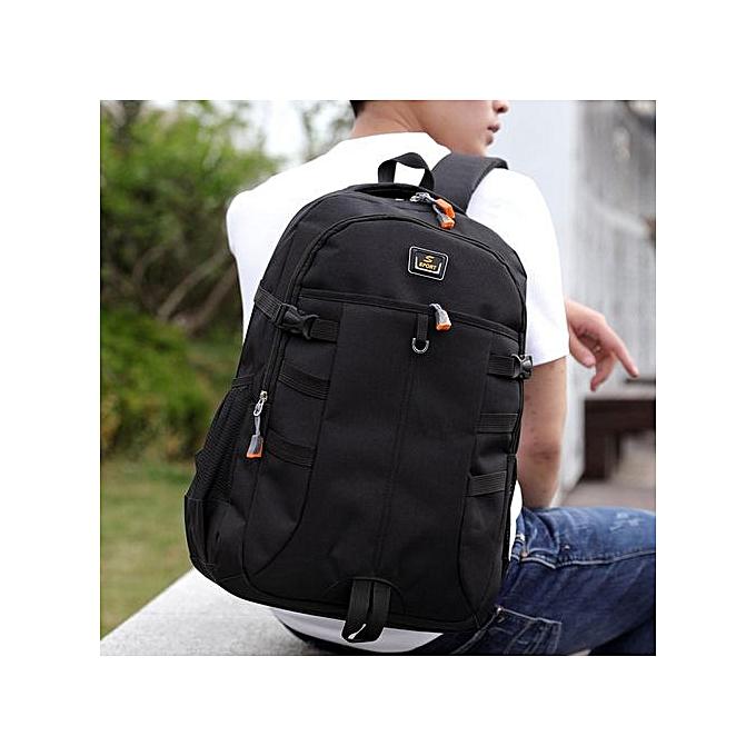 Fashion Singedan Shop Unisex Backpack Large Capacity Nylon Bag Student Bag Computer Bag Travel Bag à prix pas cher
