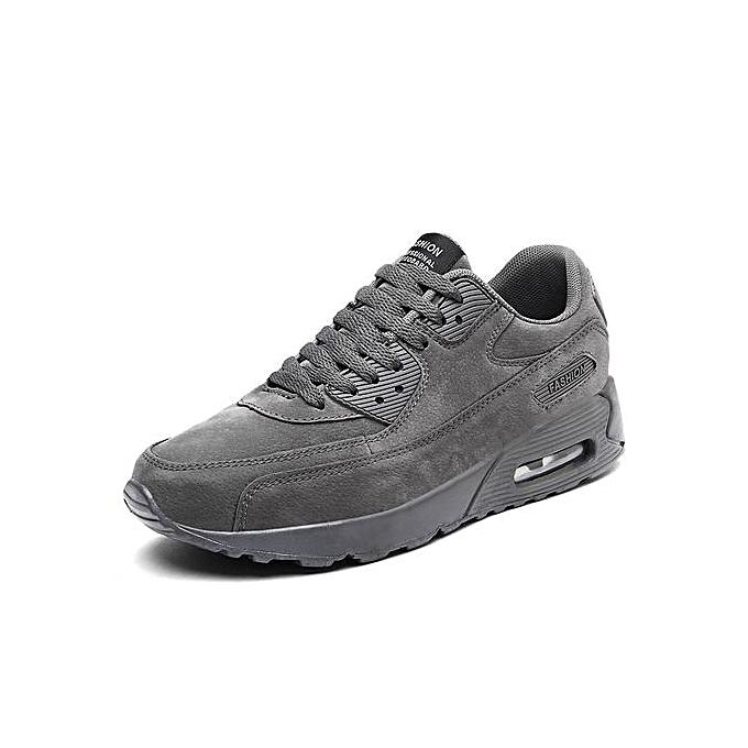 Zant Fashion Men Air Cushion Casual chaussures Man Flats Breathable Mens Fashion Classic Outdoor chaussures Mens Canvas baskets chaussures gris à prix pas cher    Jumia Maroc