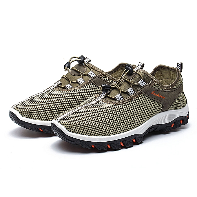 Fashion Men's Outdoor sports chaussures Fashion Casual Breathable baskets Running chaussures à prix pas cher