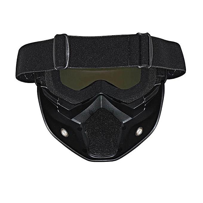 Commandez General Moto Visage Masque Lunettes Motocross Moto Moteur