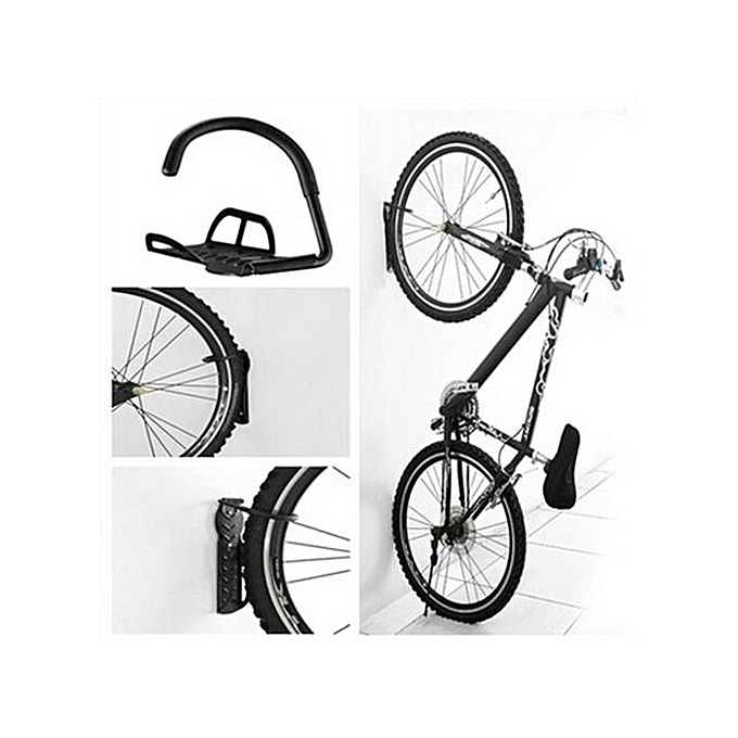 Generic Hiamok_Bicycle Wall Hanger Bike Storage System For Garage Or Shed à prix pas cher