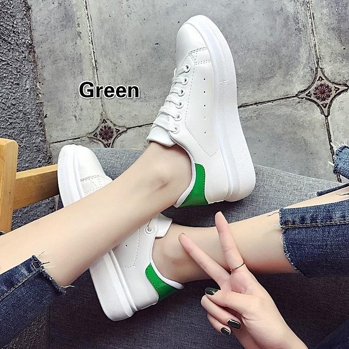 Autre Leisure Korean Leisure Autre Thick Sole White Shoes à prix pas cher  | Black Friday 2018 | Jumia Maroc fdb3aa