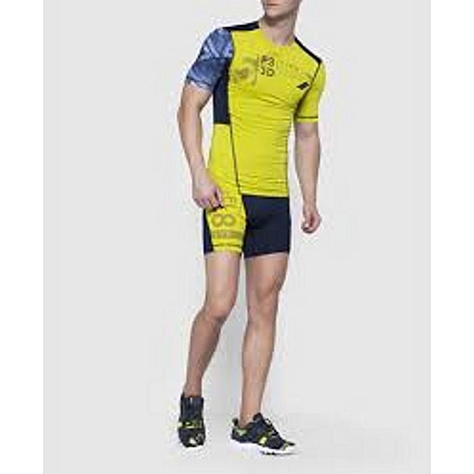 Reebok Short - Fitness - Gym - Running Homme à prix pas cher  cb06a0da035
