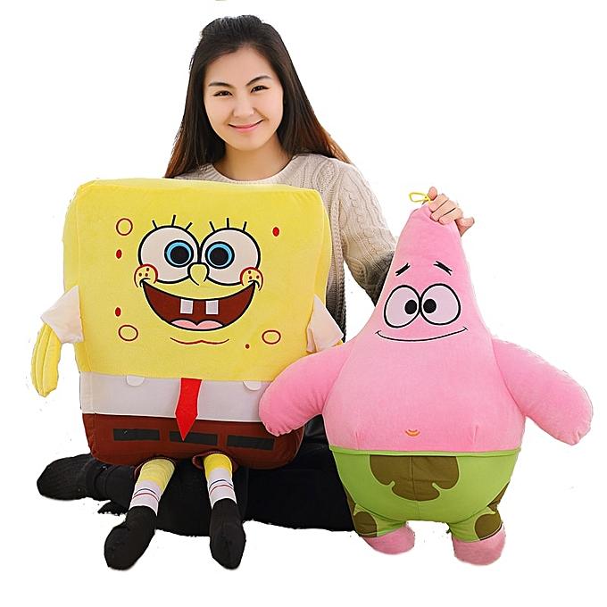 Autre 1pc 40cm 50cm 60cm Cartoon Spongebob Patrick Star Plush Animals Toys Plush Spongebob Pillow Sofa Cushion Birthday Gifts Kids Toy(Patrick) à prix pas cher