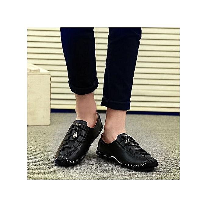Zant Genuine Leather Loafers  's Casual Business Moccasins Shoes Shoes Moccasins à prix pas cher  | Jumia Maroc f25af3