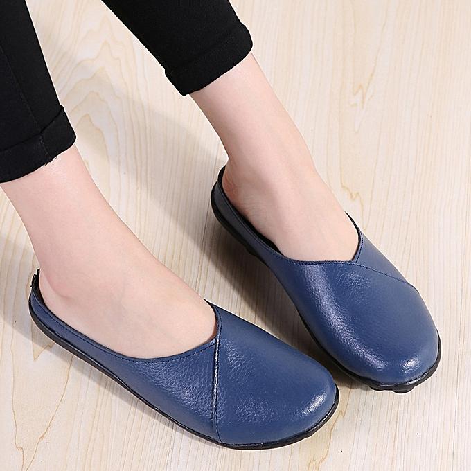 Générique Tcetoctre WoHommes WoHommes WoHommes 's Flats Pure Color Soft Bottom Shoes Soft Slip-On Casual Boat Shoes-Light Bleu  à prix pas cher  | Jumia Maroc 3e204e