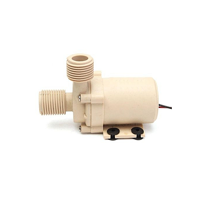 UNIVERSAL DC 12V 24V 5M 3M Solar Hot Water Brushless Motor Circulation Pump Food Grade New à prix pas cher