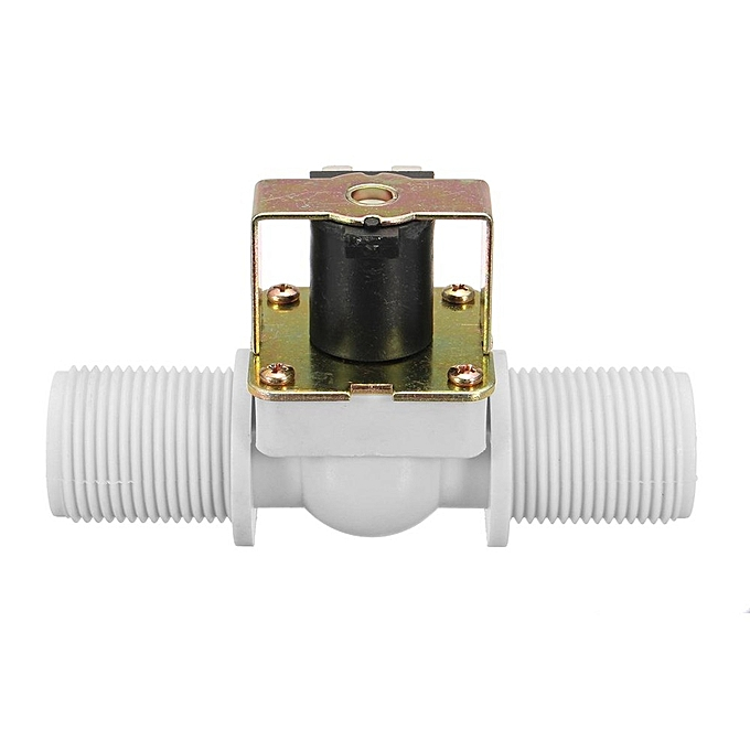 UNIVERSAL DC12V G3 4 DN20 2 Way Control Closed Intake Release Water Drain Valve Solenoid blanc à prix pas cher
