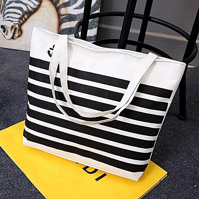 Fashion femmes Denim Jean Tote Bag Cat And Flower Embroidery Handbags Shoulder Bag-bleu à prix pas cher