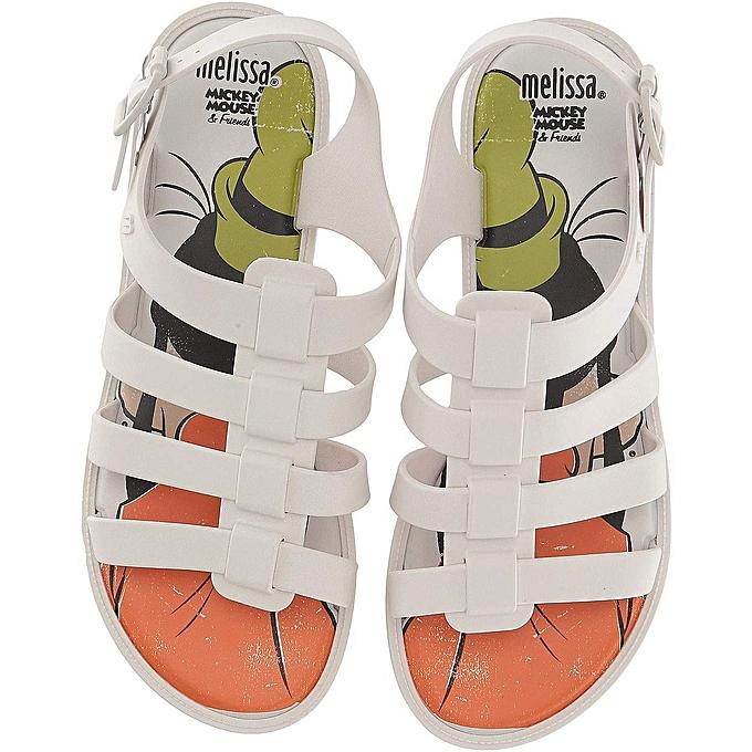 Melissa chaussures Melissa chaussures - Flox + Disney® femme Sandal - US Tailles à prix pas cher