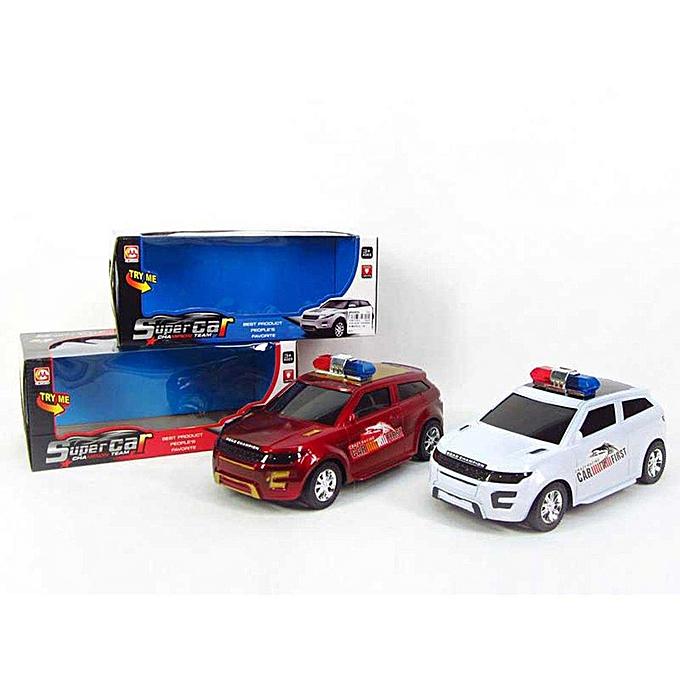 Autre Jouet éducatif de véhicules de police par inercravate d'enfants d'UR avec la lumière badine des cadeaux de jouets à prix pas cher