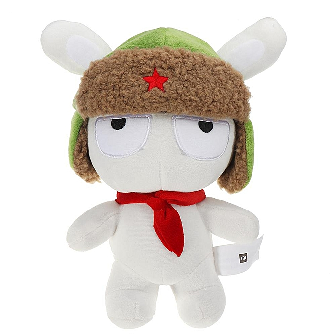 UNIVERSAL XIAOMI blanc Stuffed Plush Toy Classic MITU 25cm Cute Soft Doll Enfants Best Gift à prix pas cher