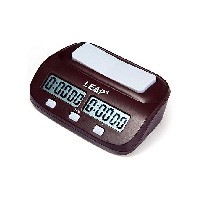 UNIVERSAL Chronomètre Numérique A Multi-Fonction LEAP PQ9907S - marron à prix pas cher