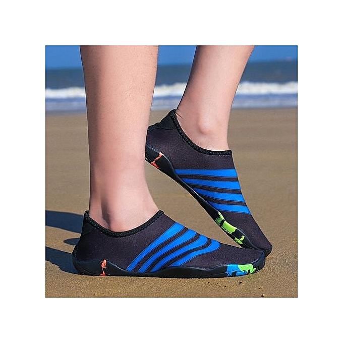 Fashion Chaussures De Plage - Noir à prix pas cher