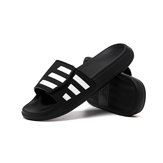 Fashion Men's summer slippers hommes summer personality fashion wear indoor home bathroom bath non-slip household sandals and slippers à prix pas cher