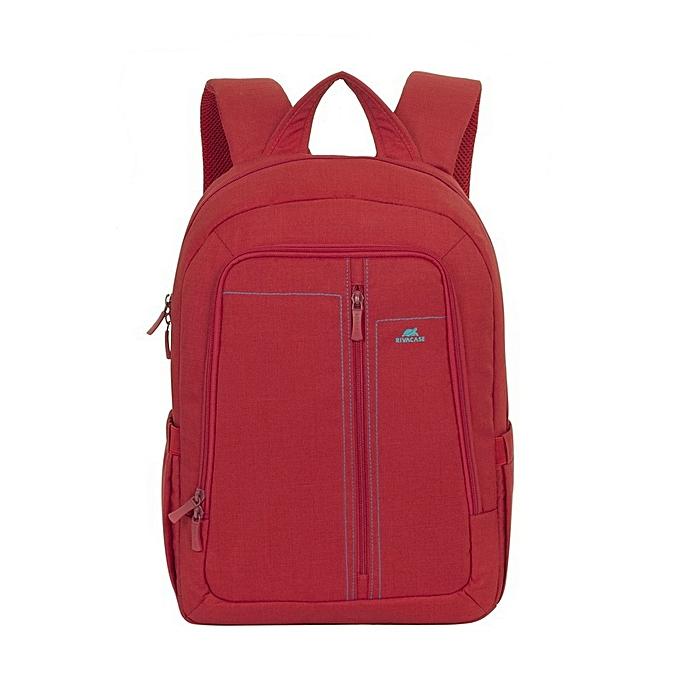 Rivacase sac à dos en toile pour ordinateurs portables 15.6  à prix pas cher