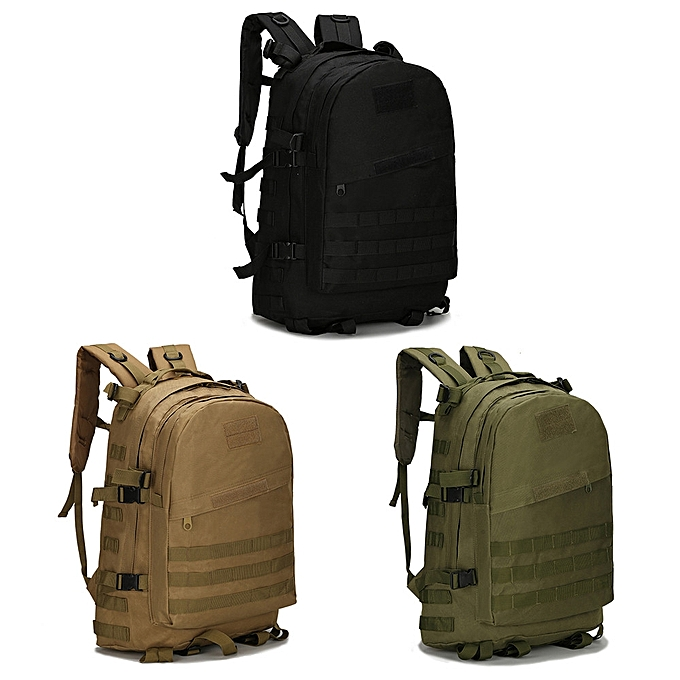 nouveauorldline 40L 3D sac à dos de plein air Trekking Sport voyage Camping Hiking Camouflage sac- Army vert à prix pas cher