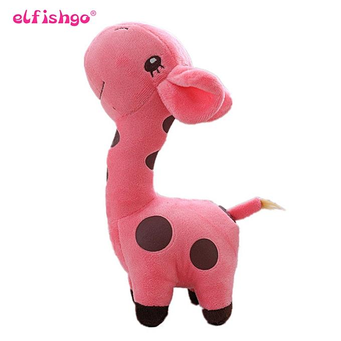 Autre Cute   Toys  Giraffe Plush Toys Dolls For Enfants Friends Gift  6 Couleurs Available 18cm(violet) à prix pas cher