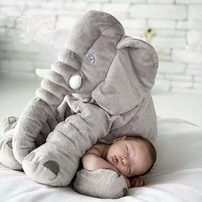 Autre Hot 40cm 60cm grand Plush Elephant Doll Enfants Sleeping Soft Back Cushion Cute Stuffed Elephant   Accompany Doll Xmas Gift(3) à prix pas cher