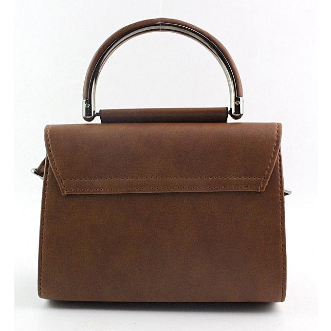 Siketu femmes Fashion  Handbag Shoulder Bag Large Tote Ladies Purse LB- Light marron à prix pas cher