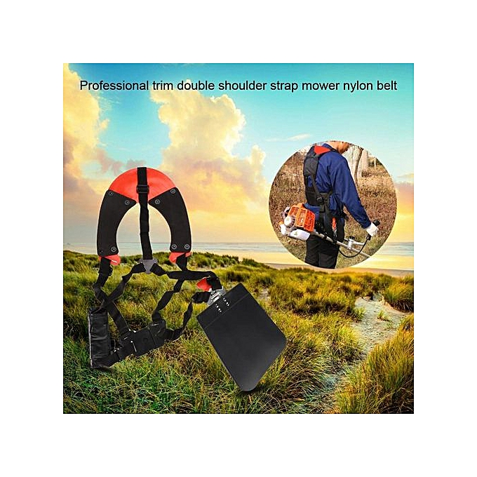 Other Professional Trimmer Double Shoulder Strap Mower Nylon Belt For Brush Garden Lawn à prix pas cher