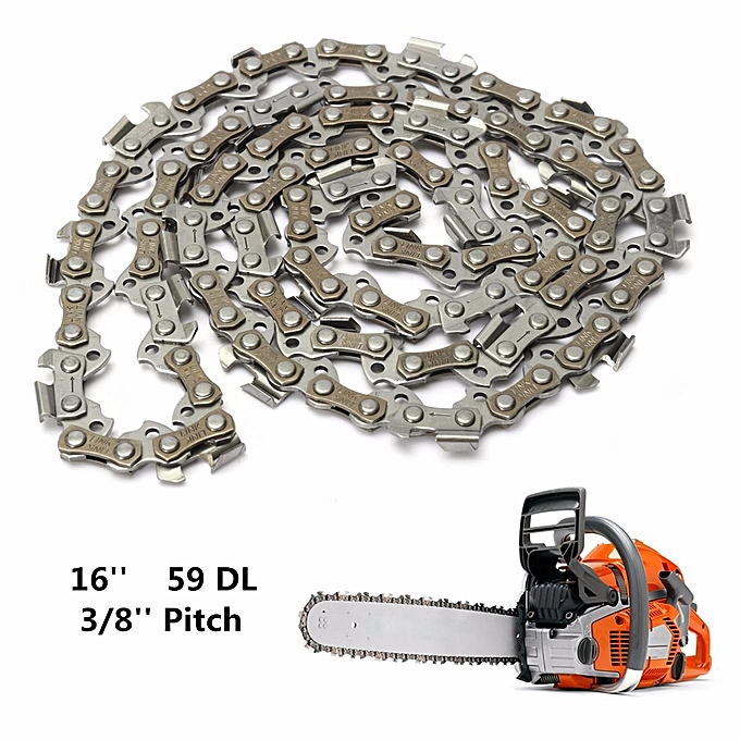 UNIVERSAL Substitution Chainsaw Saw Mill Chain 16'' 59 Drive Links 3 8'' Pitch 050 Gauge à prix pas cher
