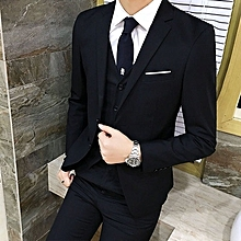 ac2d05e44e8 Stylish Men  039 s Leisure Bridegroom One Button Plus Size Suits Blazer Sets