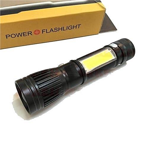 Generique Lampe De Poche A Led Lampe Torche Rechargeable Usb Avec